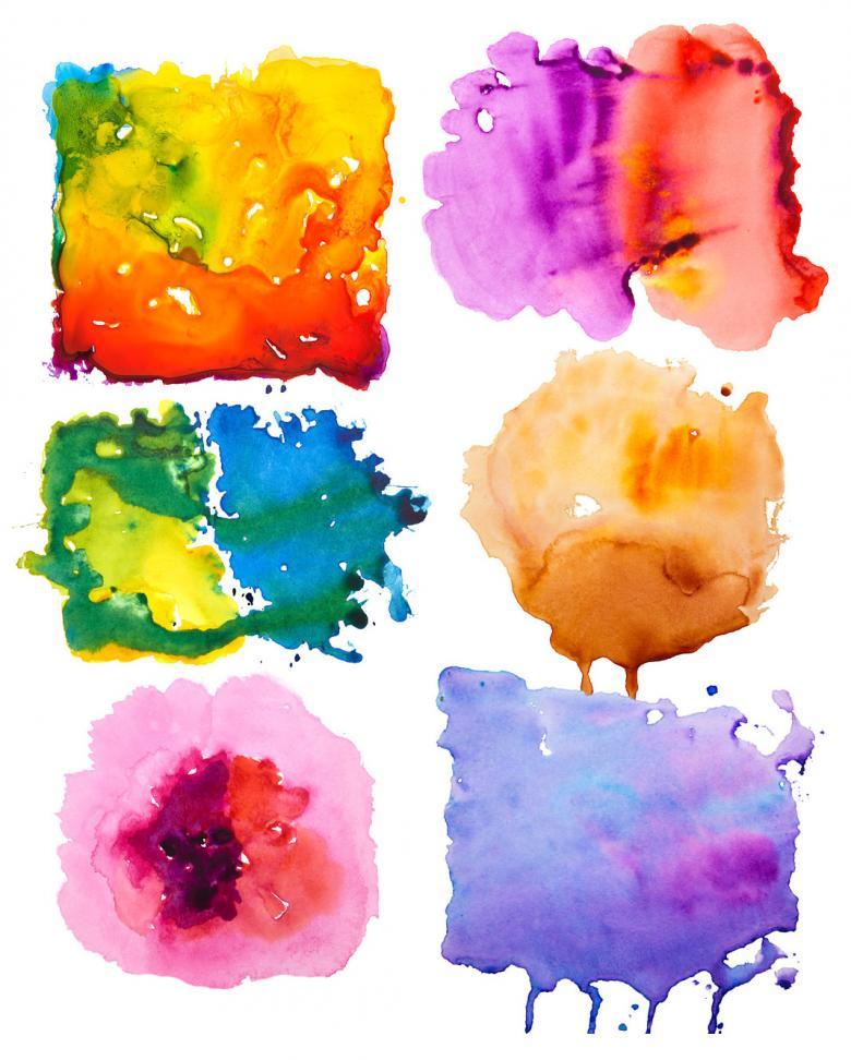 6 Watercolor Textures