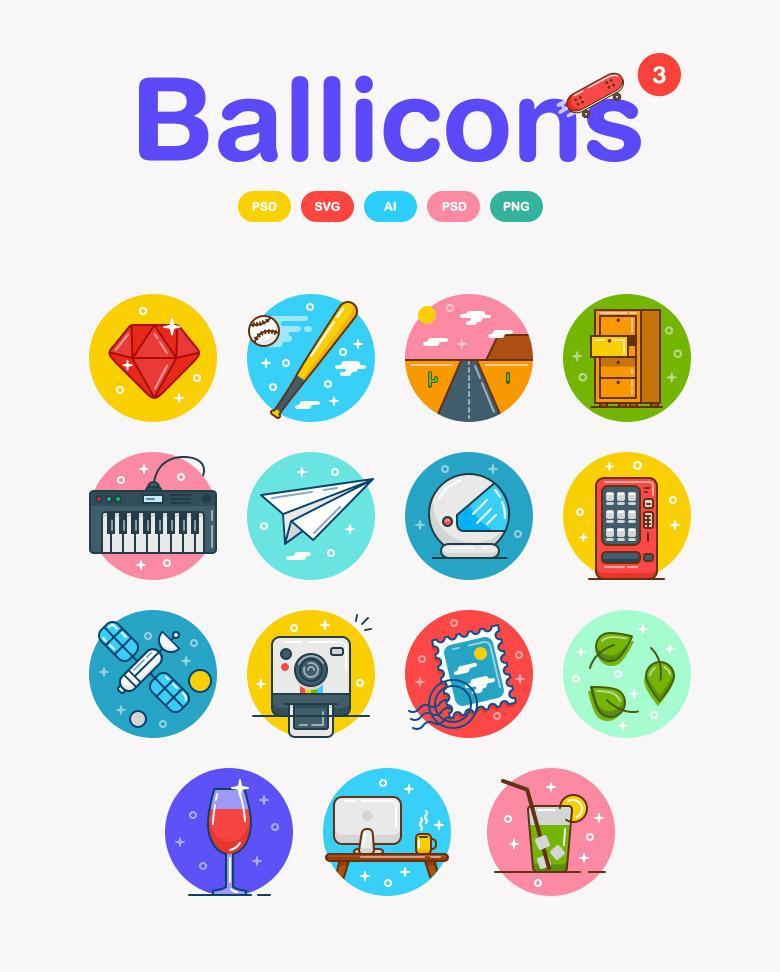 Ballicons Free Volume 3
