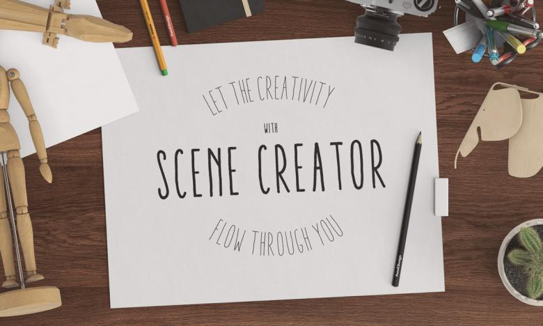 Creativity Header Scene Creator