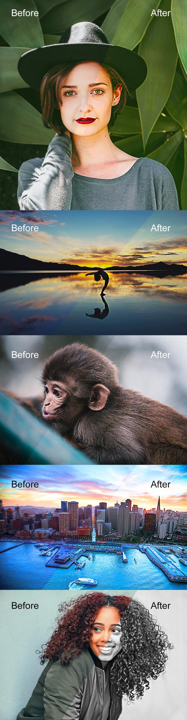 Bold and Sharp Photoshop Actions