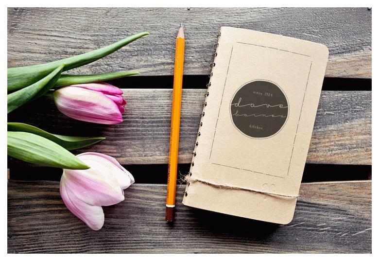 Small Sketchbook Mockup