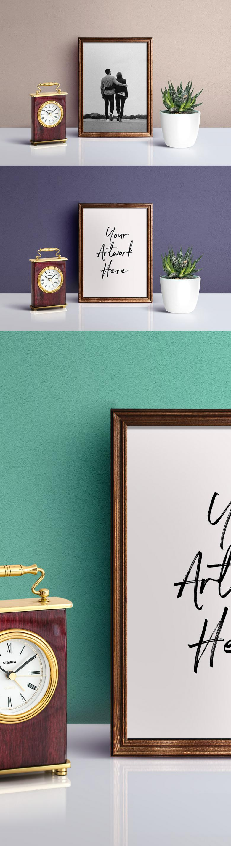 Picture Frame PSD Mockup