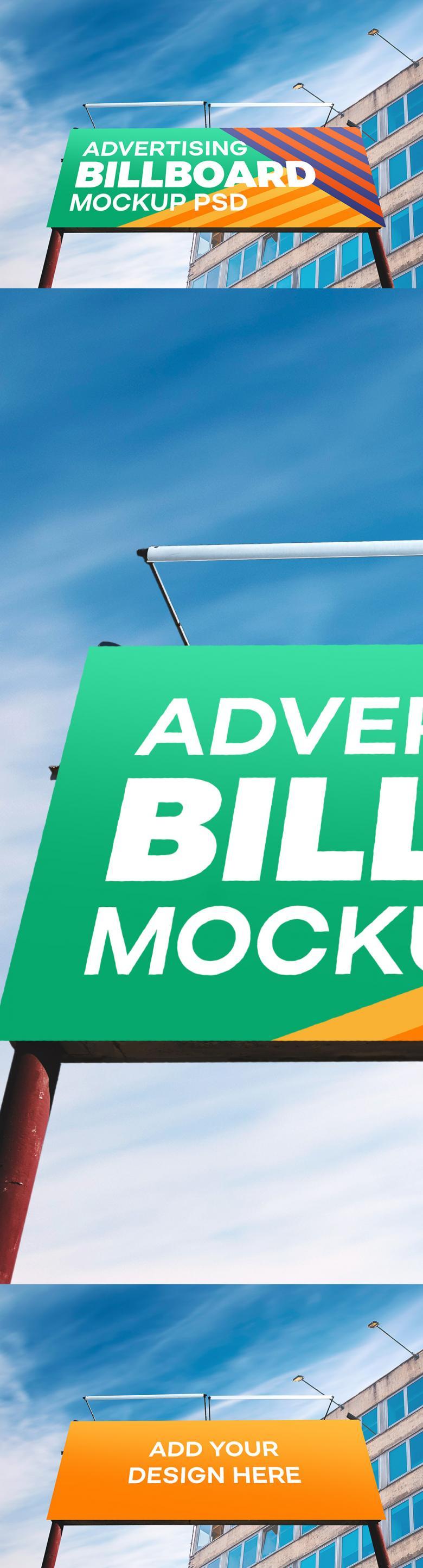 Outdoor Advertising Billboard Mockup