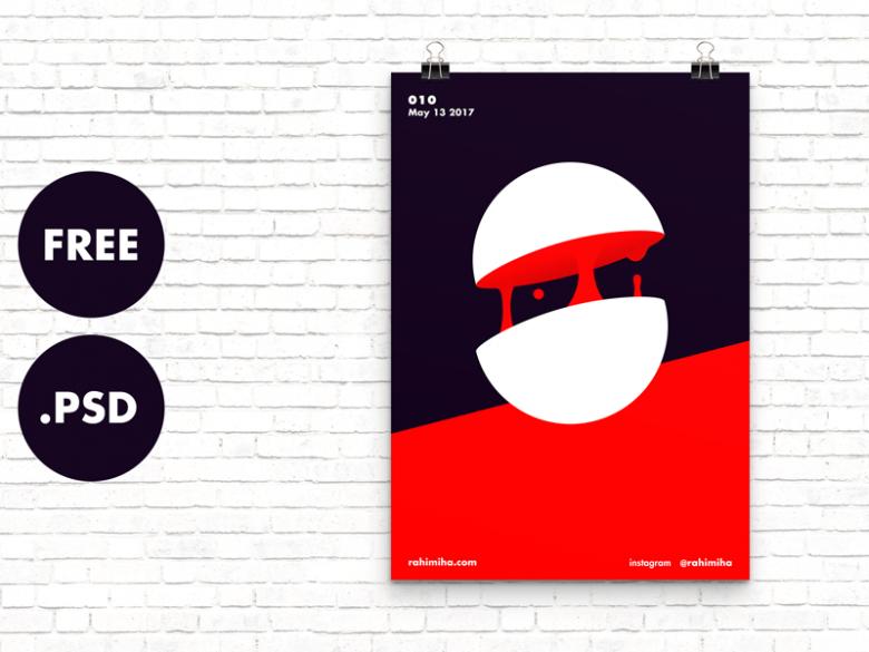 Minimal Poster Mockup